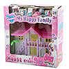 Дом для куклы с меб.  BOX 18*18*7см  My happy family House dream,  2в. ,  арт. 3906