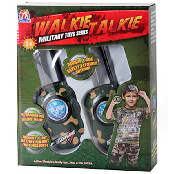 Игруш. рация 2шт Walkie Talkie Military,  24*20*5, 5см,  BOX,  арт. 008A