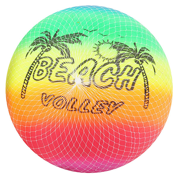 Мяч ПВХ Beach Volley,  23см,  100гр. ,  арт. C04795