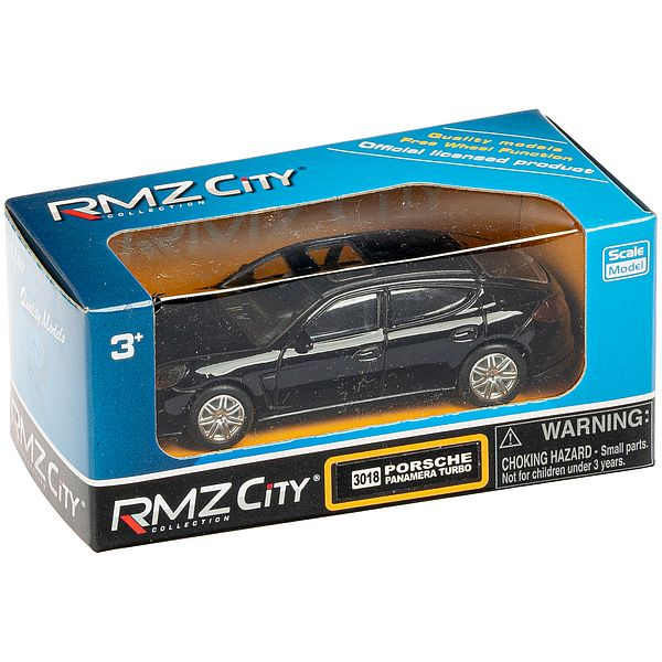 Метал.  модель М1:64  RMZ CITY Porsche Panamera Turbo,  арт. 344018.