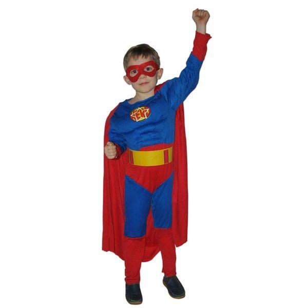 Новогодний костюм супергероя своими руками
