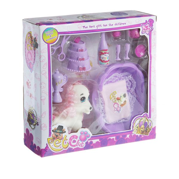 Набор игровой Pet Club BOX,  арт. CL2062ABC.
