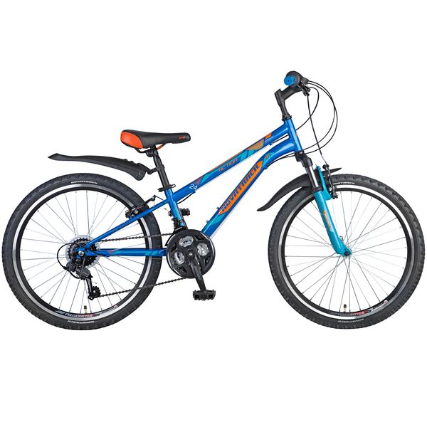 "Велосипед NOVATRACK 24"",  ACTION,  синий,  рама сталь,  Shimano 18 speed,  TY21/TZ30/RS35/SG-6SI #110377"