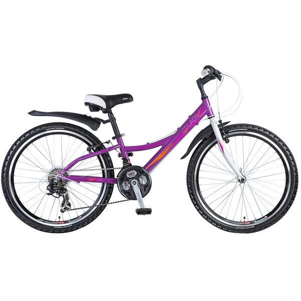 "Велосипед NOVATRACK 24"",  Lady,  фиолетовый,  рама алюм,  Shimano 21 speed,  FT35/TZ30/RS35/SG-7SI #11037"