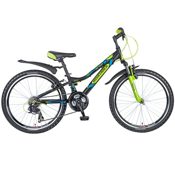"Велосипед NOVATRACK 24"",  ACTION,  черный,  рама алюм,  Shimano 21 speed,  FT35/TZ30/RS35/SG-7SI #110379"