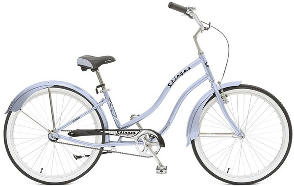 "Велосипед Stinger 26"" Cruiser L 16, 5""; синий; 1 ск"