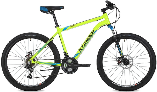 "Велосипед Stinger 26"" Element D 18"",  зеленый,  TZ500/TY21/TS-38-6"